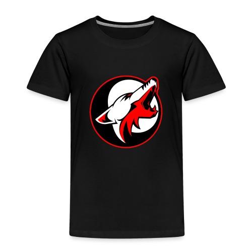 wolf roar - Kids' Premium T-Shirt