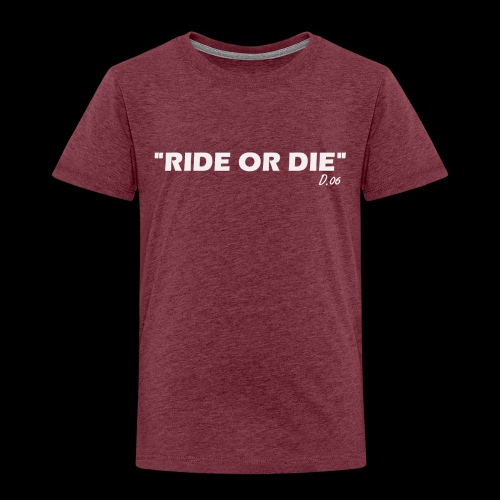 Ride or die (blanc) - T-shirt Premium Enfant