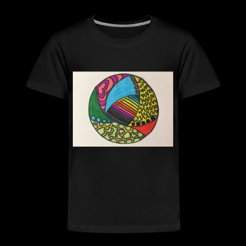 circle corlor - Børne premium T-shirt