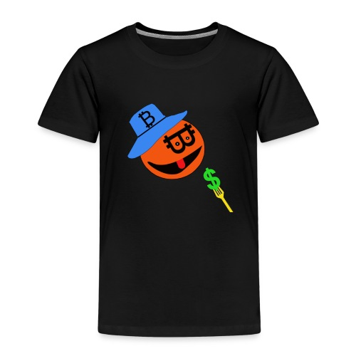 Eat dollar BY BITCOIN - Kinderen Premium T-shirt