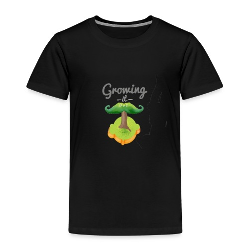 Moustache tree - Kids' Premium T-Shirt