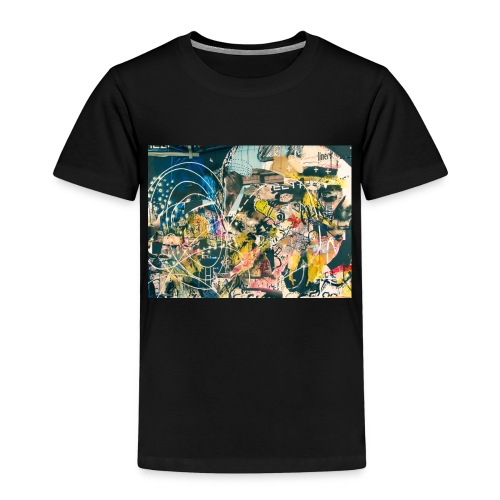 art graffiti abstract vintage - Camiseta premium niño
