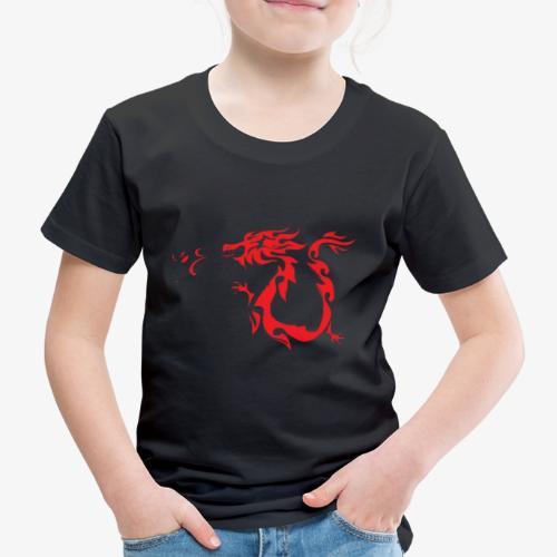 Red Dragon - Maglietta Premium per bambini