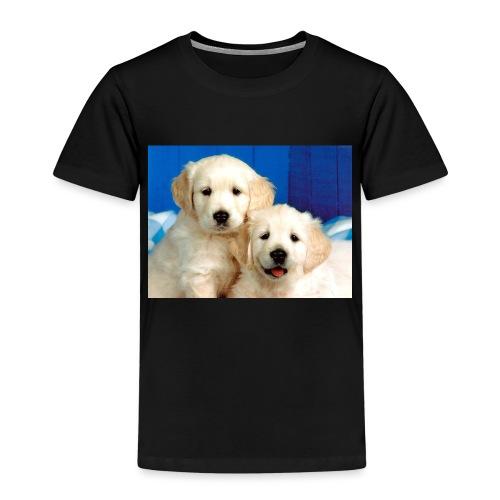 Golden labs pups - Kids' Premium T-Shirt