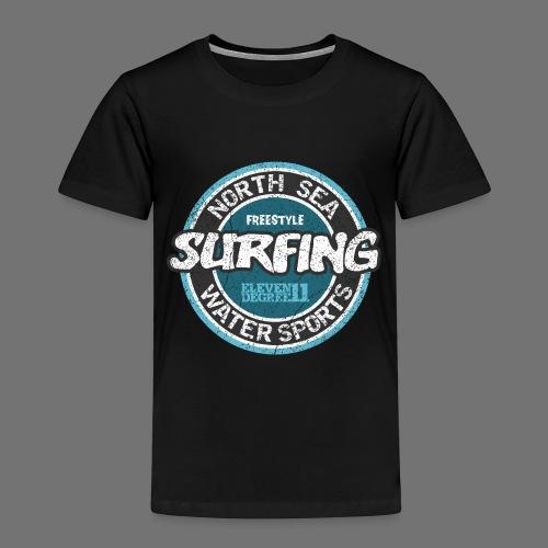 North Sea Surfing (oldstyle) - Kids' Premium T-Shirt