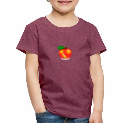 Apfel - Kinder Premium T-Shirt