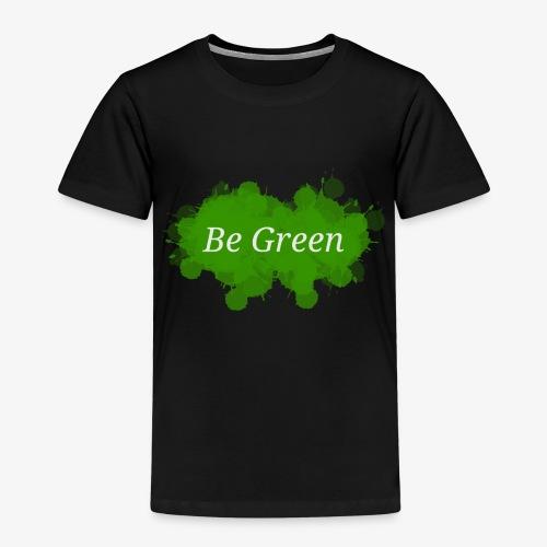 Be Green Splatter - Kids' Premium T-Shirt