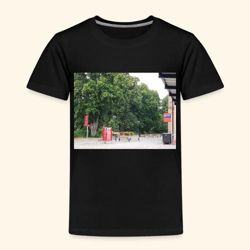 Bahnhofs-Vorplatz-Aufnahme - Kinder Premium T-Shirt