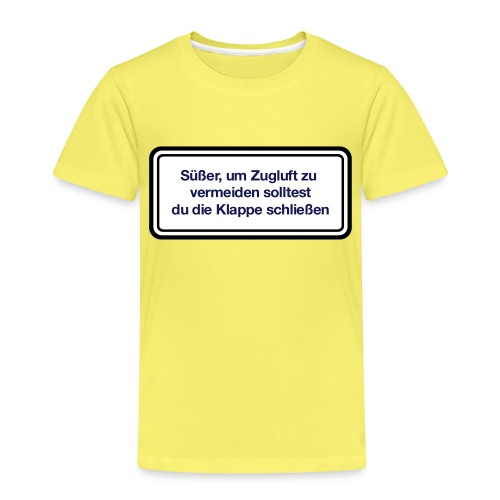 zugluft_er - Kinder Premium T-Shirt