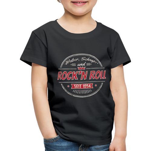 Rock´n Roll, Weiber Schnaps und Bier - Kinder Premium T-Shirt