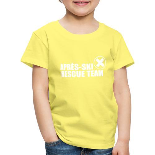 APRÈS SKI RESCUE TEAM 2 - Kinderen Premium T-shirt