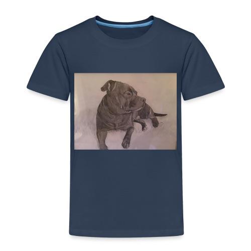 My dog - Premium-T-shirt barn