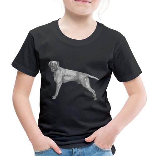 boxer - ink - Børne premium T-shirt