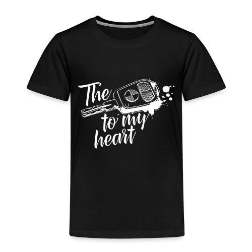 The key to my heart - Kinder Premium T-Shirt