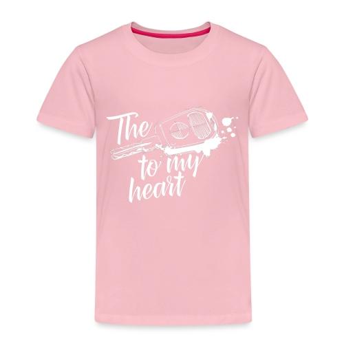 The key to my heart - Kinder Premium T-Shirt