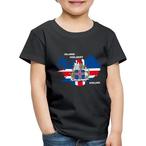 Island Iceland Holiday Urlaub - Kinder Premium T-Shirt