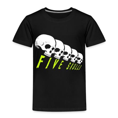 Five Skulls - T-shirt Premium Enfant
