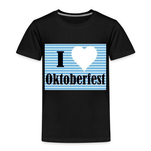 I Love Oktoberfest - Kinder Premium T-Shirt