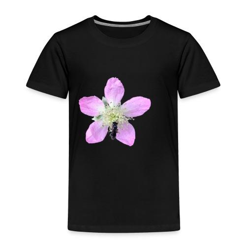 Mosca liba una flor - Camiseta premium niño