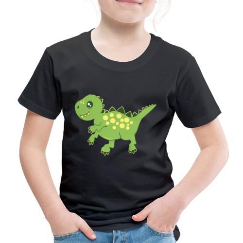 Dino voraz - Camiseta premium niño