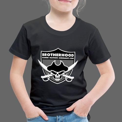 RAIDER NATION GERMANY - Kinder Premium T-Shirt