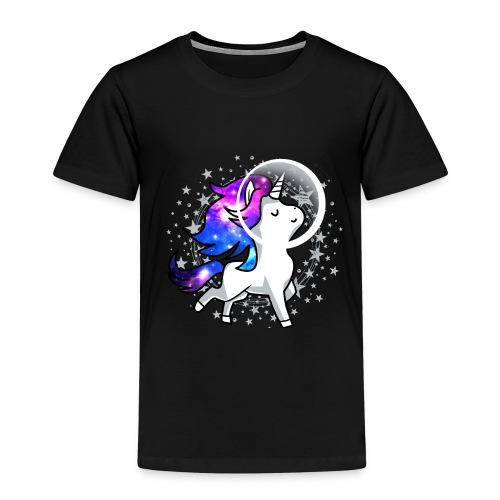 Einhorn Unicorn Astronaut Pony Weltraum Raumschiff - Kinder Premium T-Shirt