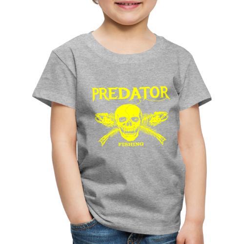 Predator fishing yellow - Kinder Premium T-Shirt