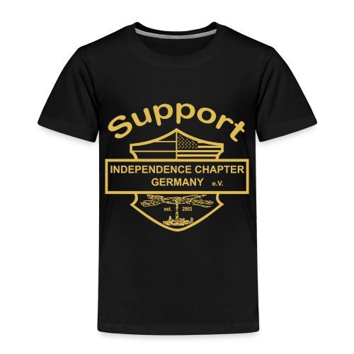 Support Indis gold - Kinder Premium T-Shirt