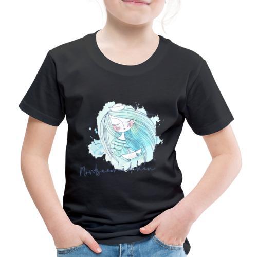 Nordseemädchen Papierboot - Kinder Premium T-Shirt