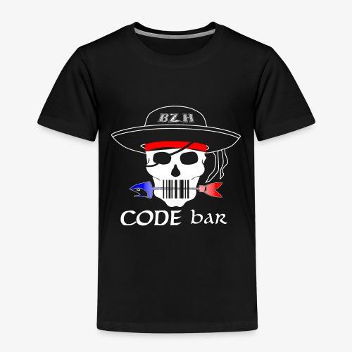 Code Bar white - T-shirt Premium Enfant