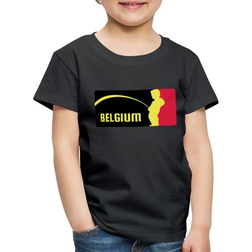 Mannekke Pis, Belgium Rode duivels - Belgium - Bel - T-shirt Premium Enfant