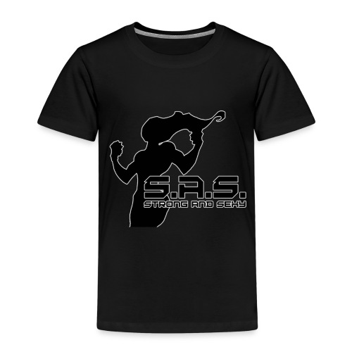 SAS babe png - Kinderen Premium T-shirt