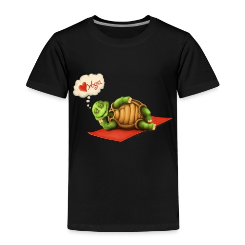 Love-Yoga Turtle - Kinder Premium T-Shirt
