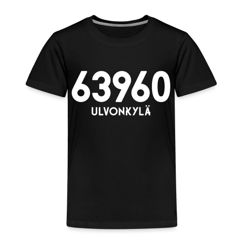 63960 ULVONKYLA - Lasten premium t-paita