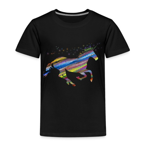 licorne multicolor - T-shirt Premium Enfant