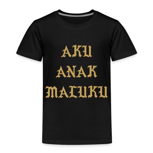 Aku Anak Maluku goud png - Kinderen Premium T-shirt