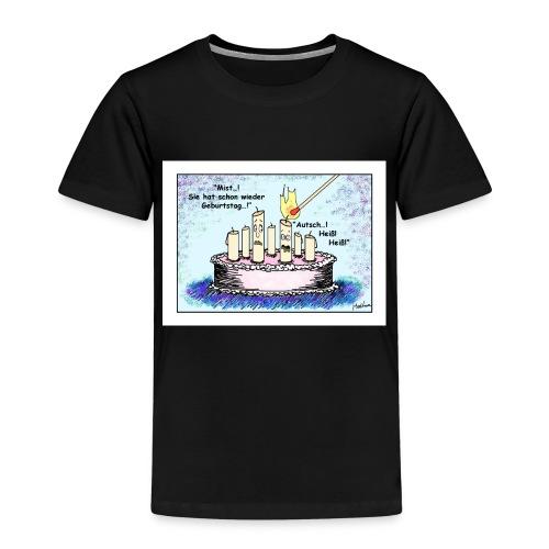 Geburtstagskerze - sie - Kinder Premium T-Shirt