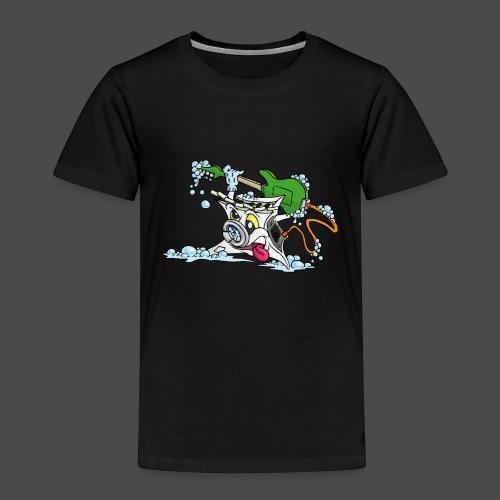 Wicked Washing Machine Wasmachine - Kinderen Premium T-shirt