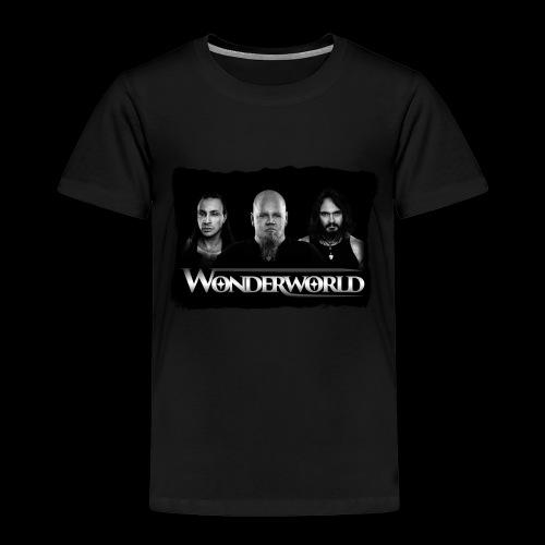 Wonderworld Black and white - Premium T-skjorte for barn