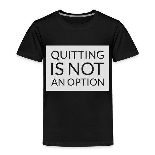 box_black_bkg_text_only - Premium-T-shirt barn