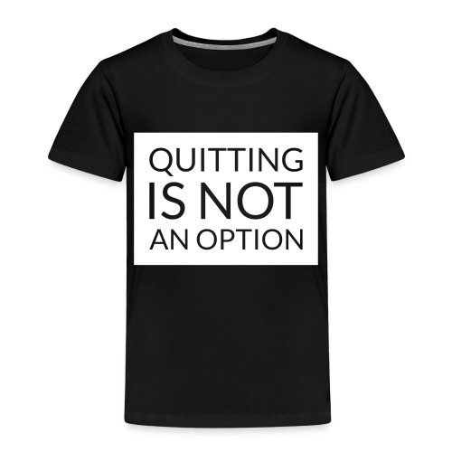 box_black_bkg_text_only - Kids' Premium T-Shirt