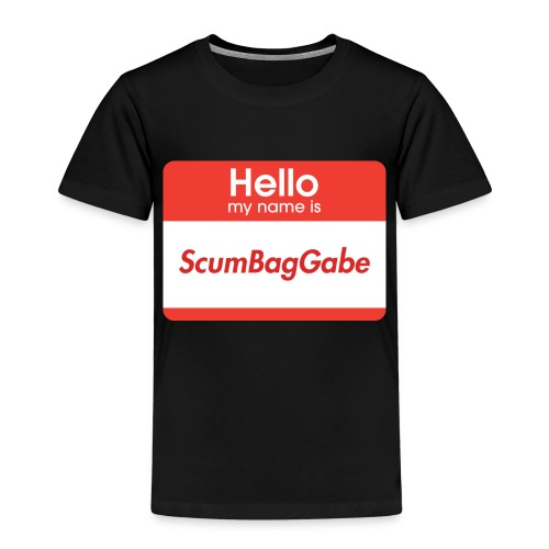 Hello My Name Is ScumBagGabe - Kids' Premium T-Shirt