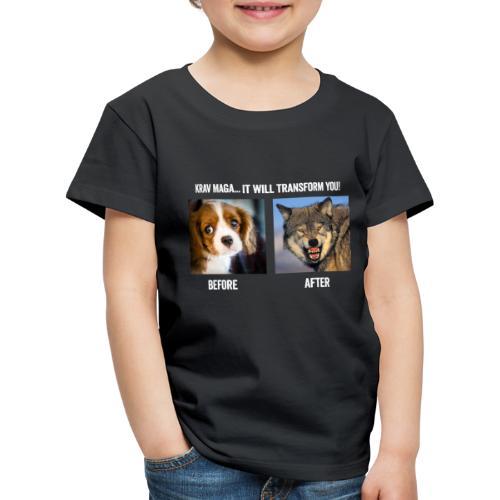 Krav Maga Will Transform You - Kids' Premium T-Shirt