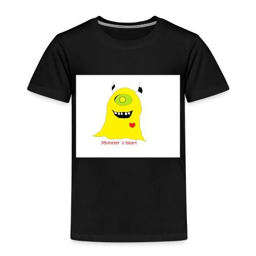 monster mit herz - Kinder Premium T-Shirt