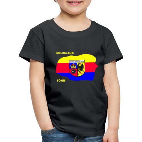 Foehr Insel Nordsee Urlaub - Kinder Premium T-Shirt