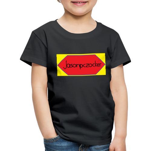 Jasonpczocker Design für gelbe Sachen - Kinder Premium T-Shirt