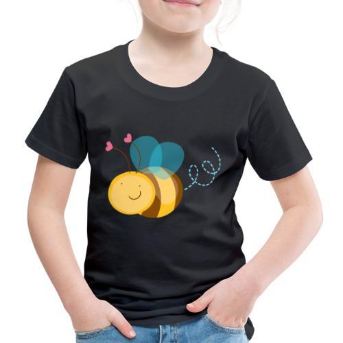Cute Bee - Camiseta premium niño