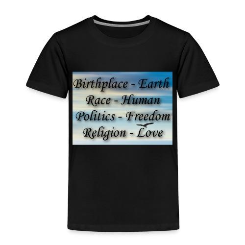 I Choose peace - Kids' Premium T-Shirt