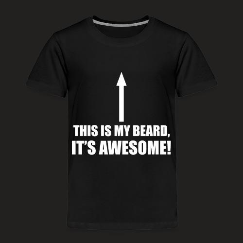 MY BEARD.png - Kids' Premium T-Shirt