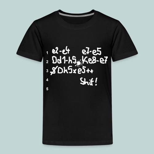Schachpartie - Kinder Premium T-Shirt